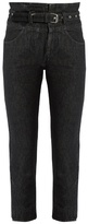 Isabel Marant Evera high-rise cropped jeans