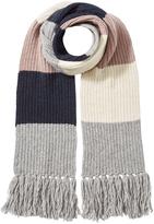 Closed Alpaca-Wool Colorblock Scarf