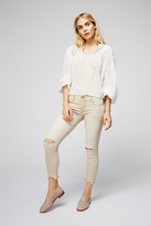 Free People Womens DESTROYED SKINNY ANKLE