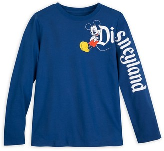 Disney Mickey Mouse Long Sleeve T-Shirt for Kids Disneyland