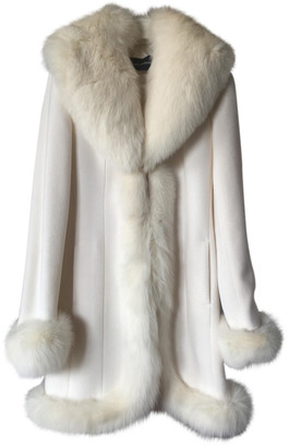 Flavio Castellani White Wool Coats