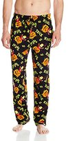 MJC International Men's the Simpsons Halloween Bart Trick Or Treat Toss Sleep Lounge Pant