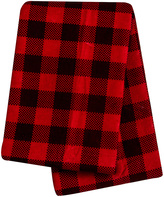 Trend Lab 48'' x 48'' Red Check Flannel Swaddle Blanket