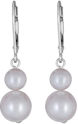 BELPEARL 14K 5.5-8Mm Pearl Earrings