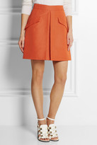 McQ by Alexander McQueen Cotton-blend mini skirt