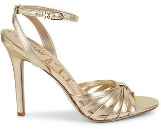 Sam Edelman Adaline Strappy Leather Stiletto Sandals