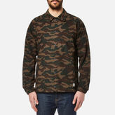 Penfield Men's Howard Camo Coach Jacket Olive
