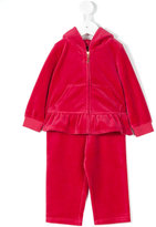 Juicy Couture printed hooded tracksuit - kids - Cotton/Polyester - 12-18 mth