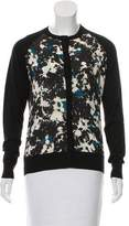 Erdem Printed Long Sleeve Cardigan