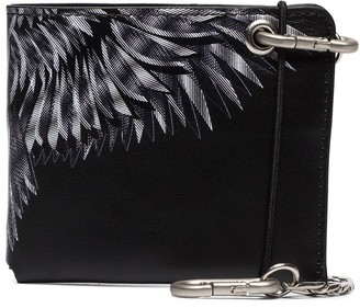 Marcelo Burlon County of Milan Wings print wallet