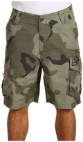 Fox Slambozo Camo Short (Moss) - Apparel