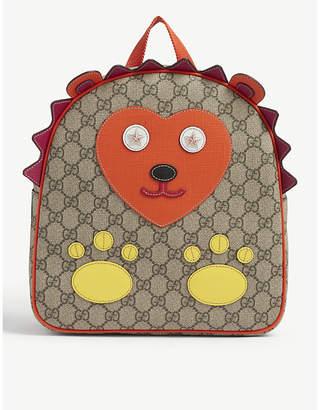 Gucci Hedgehog GG Supreme canvas backpack