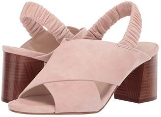 Cole Haan 65 mm Anastasia City Sandal (Marine Blue Suede) Women's Shoes