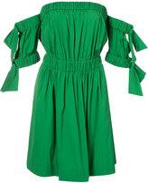 Milly shift dress - women - Cotton/Polyamide/Spandex/Elastane - 6
