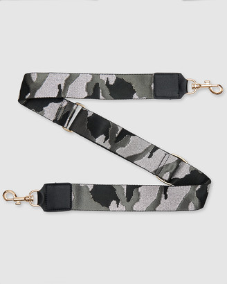Urban Originals Women's Black Bags - Camo Strap - Size One Size at The Iconic