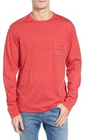 Vineyard Vines 'Vintage Whale' Long Sleeve Pocket T-Shirt