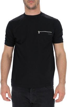Prada Zipped Pocket Crewneck T-Shirt