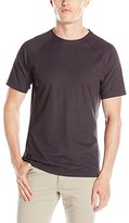 Vince Camuto Men's Short Sleeve Crew Neck Pique Tee