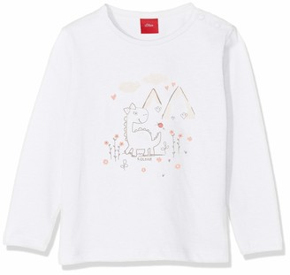 S'Oliver Baby Girls' 65.908.31.8699 Long Sleeve Top