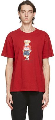 Polo Ralph Lauren Red Polo Bear T-Shirt