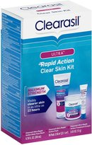 Clearasil Ultra Rapid Action Clear Skin Kit - 3 ct