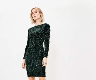 Oasis Sequin Bodycon Dress