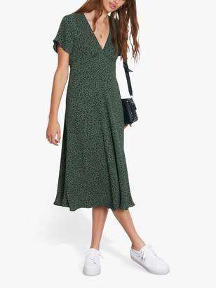 Hush Lily Animal Print Dress, Khaki