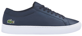Lacoste L12.12 Leather Trainers, Navy