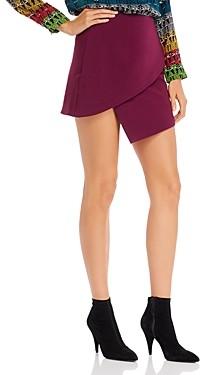 Alice + Olivia Dasia Asymmetric Mini Skirt