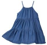 Joe Fresh Denim Tiered Dress (Baby Girls)