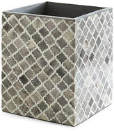 Kassatex Marrakesh Wastebasket - Gray