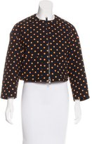 RED Valentino Cropped Printed Jacket