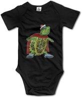 Kra8er Wonder Pets Tuck Turtle Unisex Boys Girls Baby Bodysuits Onesies 100% Cotton