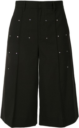 BAPY BY *A BATHING APE® Embellished Tailored Culottes