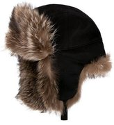 Loro Piana Fur-Trimmed Trapper Hat