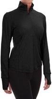 Brooks Dash Shirt - Zip Neck, Long Sleeve (For Women)