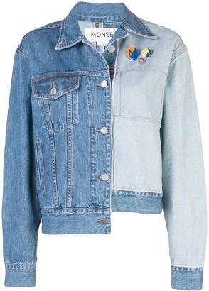 Monse Inside Out denim jacket