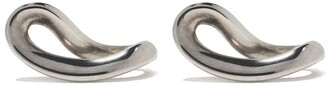 Georg Jensen sterling silver Infinity earrings