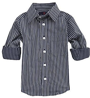 Class Club 2T-7 Striped Dress Shirt