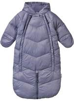 Mini A Ture Baby Blue and Grey Convertible Snowsuit