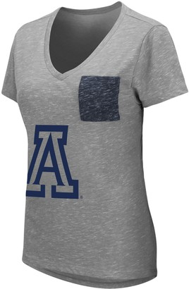 Women's University of Arizona Wildcats Short Sleeve Graphic Pocket Tee