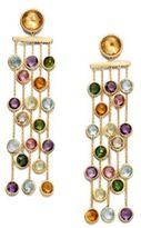 Marco Bicego Mini Jaipur Semi-Precious Multi-Stone & 18K Yellow Gold Five-Strand Drop Earrings