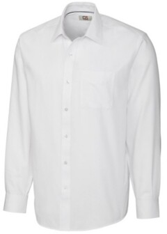 Cutter & Buck Men's Long Sleeve Spread Nailshead