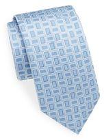 Bugatchi Square Silk Tie