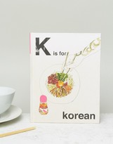 Books K is For Korean Cook Book