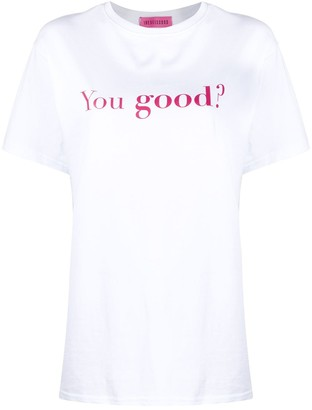 Ireneisgood You Good cotton T-shirt