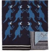 Paul Smith Knit Dino Scarf