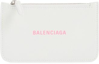 Balenciaga Cash Long Leather Card Holder