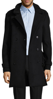The Kooples The Soft Military Wool Peacoat