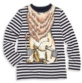 Stella McCartney Toddler's, Little Boy's & Boy's Striped Lion Graphic Organic Cotton T-Shirt